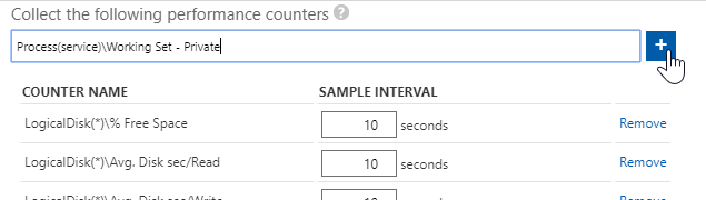 Add a new performance counter.
